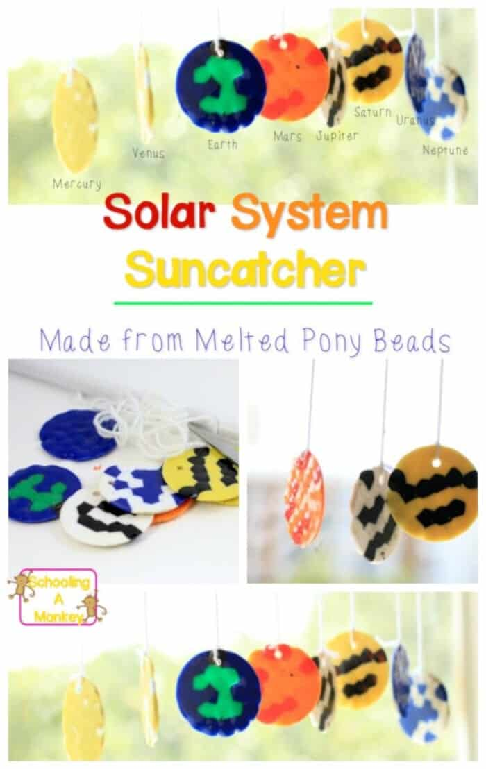 Solar System Suncatcher by Schooling Active Monkeys