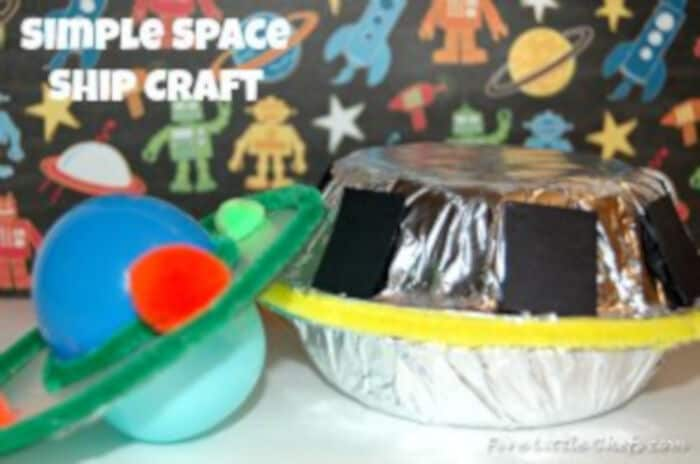 Space Craft by Five Little Chefs