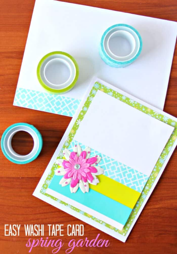Spring Garden Card by Confessions of a Overworked Mom