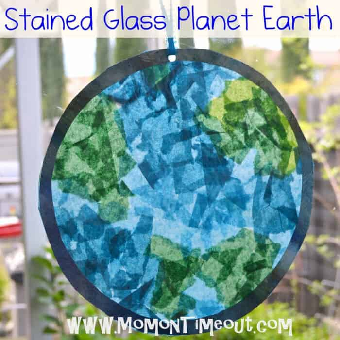 Stained Glass Planet Earth by Mom on Timeout