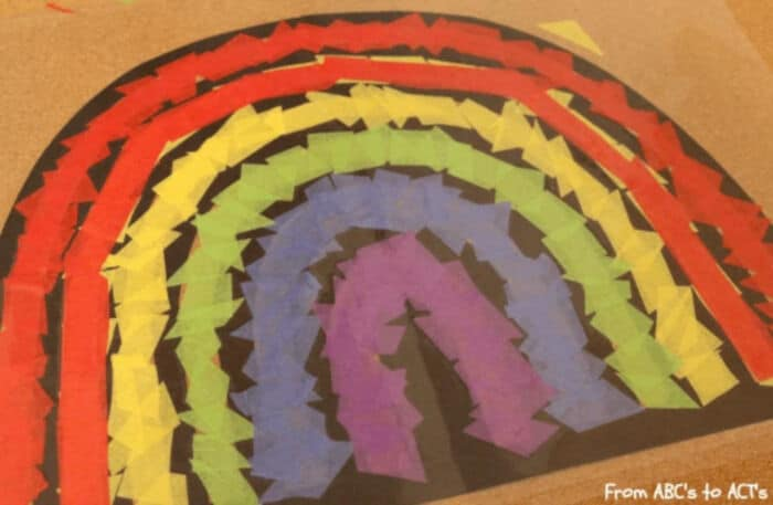 Stained Glass Rainbow by From ABCs to ACTs