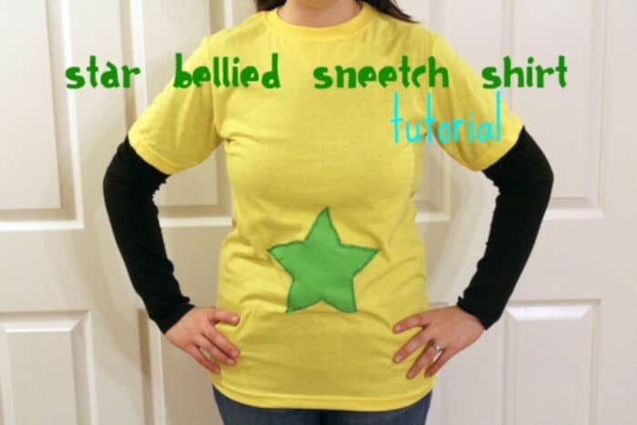 Star Bellied Sneetch Shirt by My Chocolate Moments