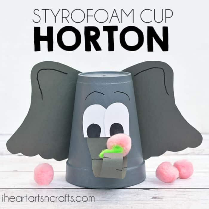 Styrofoam Cup by I Heart Arts n Crafts