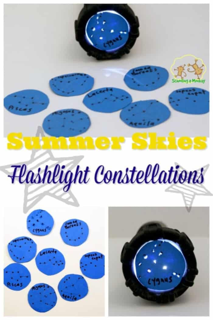 Summer Skies Flashlight Constellations by Schooling Active Monkeys