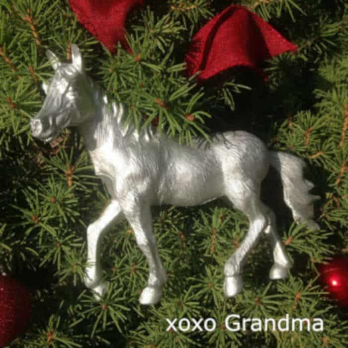 Super Simple Horse Ornament by xoxo Grandma