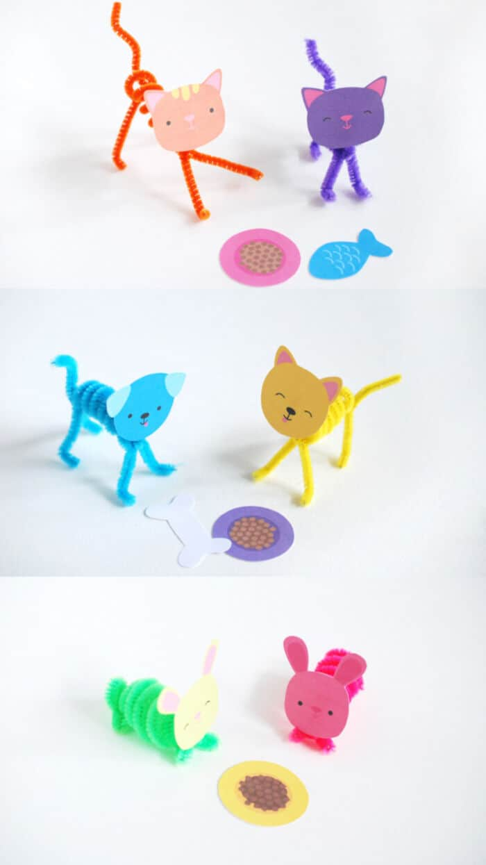 Super Sweet and Simple DIY Pet Pals by Handmade Charlotte