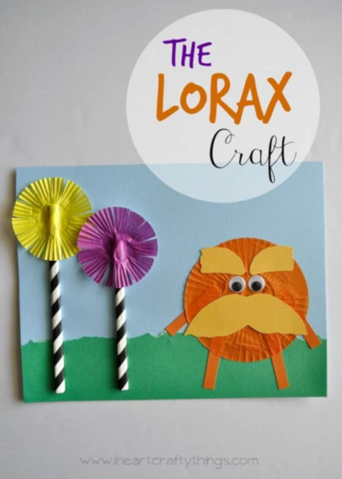 The Lorax Craft by I Heart Crafty Things
