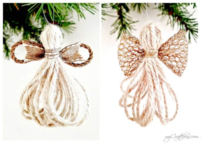 Twine Angels by myCraftchens