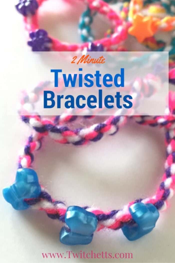 Twisted Friendship Bracelet by Twitchetts