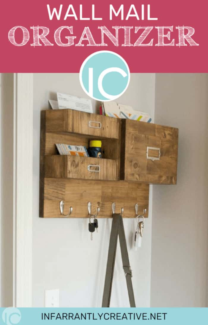 Wall Mail Organizer by Infarrantly Creative