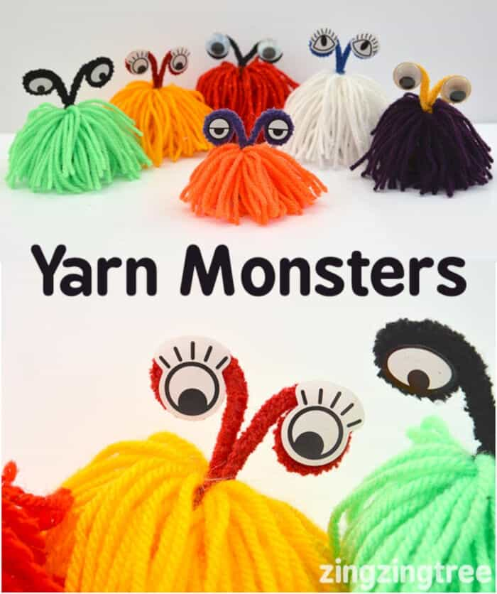 Yarn Monsters by Blue Bear Wood