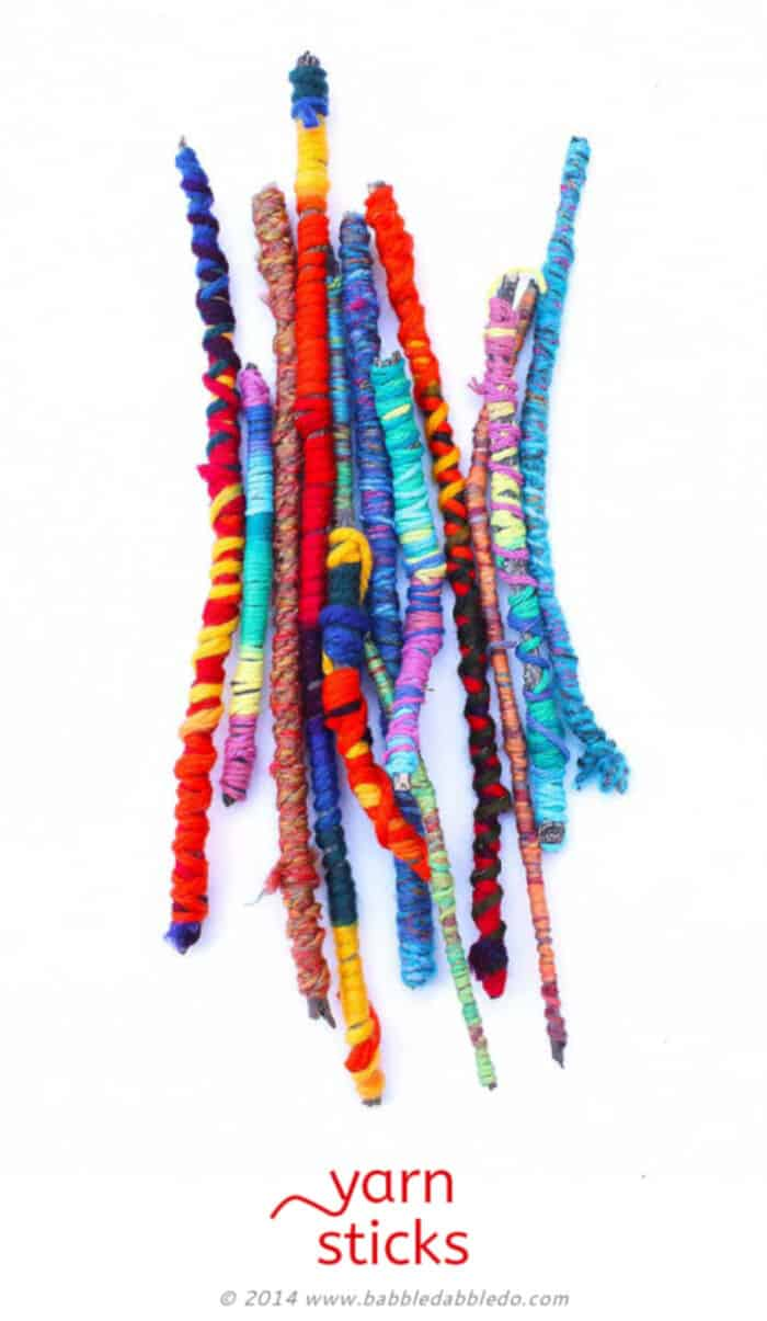 Yarn Sticks by Babble Dabble Do