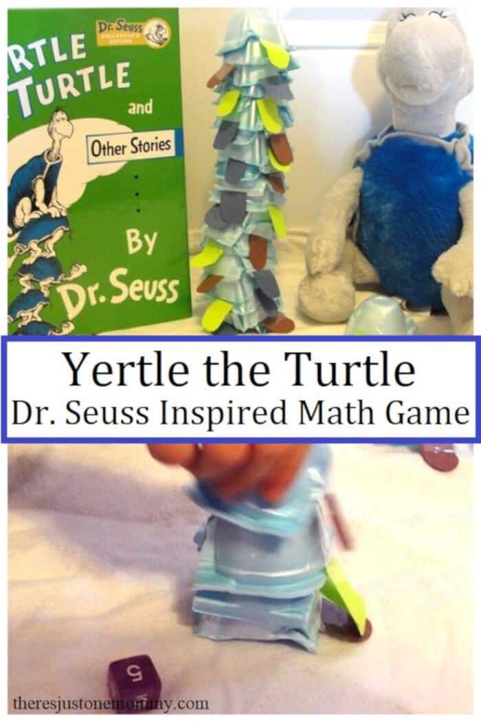 Yertle the Turtle Activity Stack the Turtles Game by Theres Just One Mommy
