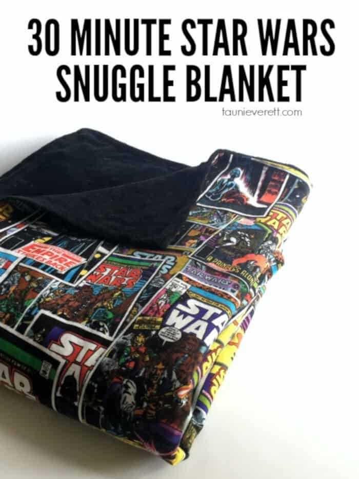 30-Minute Star Wars Snuggle Blanket by Tauni Everett