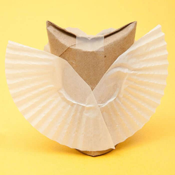 Adorable Paper Owl Craft by Parents