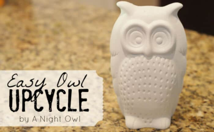 An Easy Owl Upcycle by A Night Owl