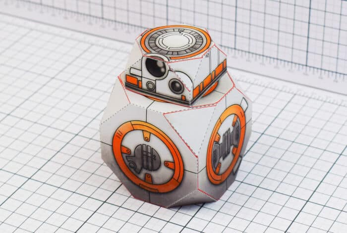 BB-8 Droid by Fold Up Toys