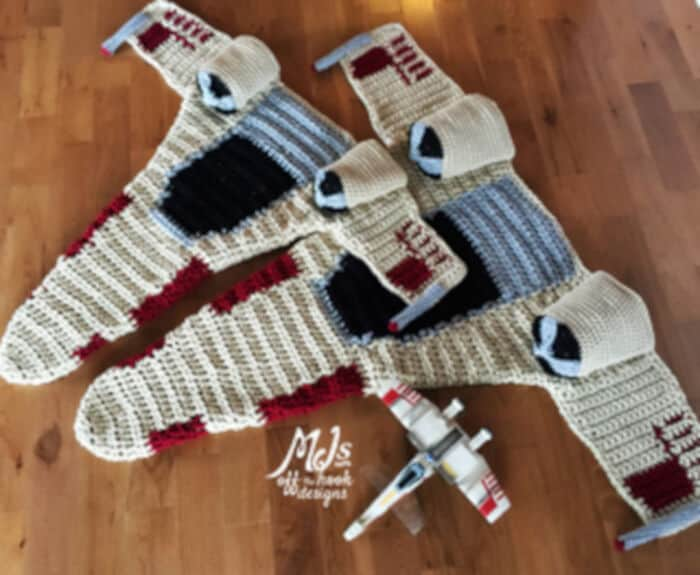 Bulky Spacefighter Blanket by Ravelry