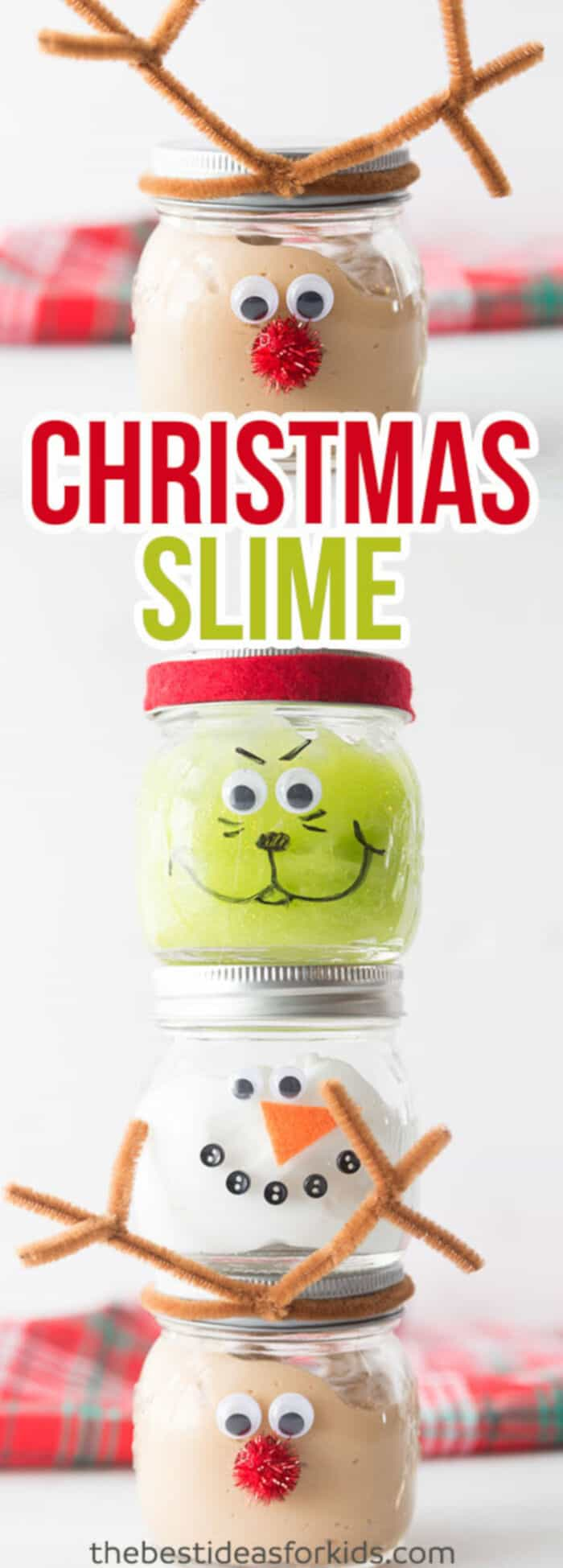 Christmas Slime Recipe by The Best Ideas for Kids