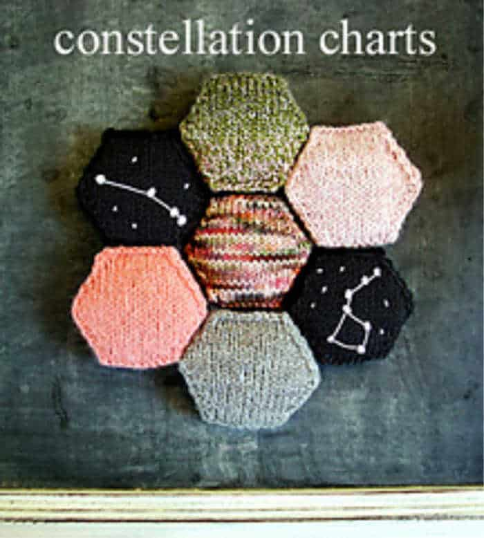 Knitted Constellation Charts