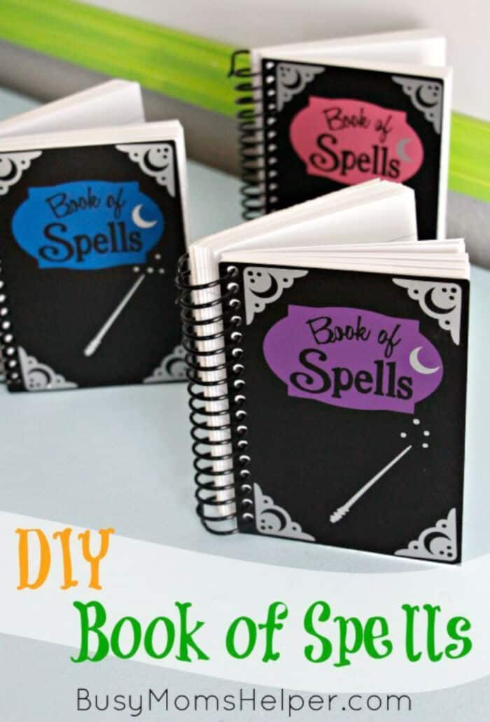 DIY Book of Spells by Busy Moms Helper