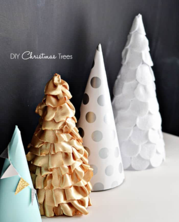 DIY Christmas Trees by Little Inspiration