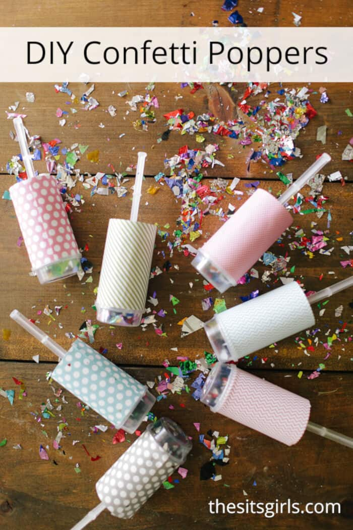 DIY Confetti Poppers by The Sway