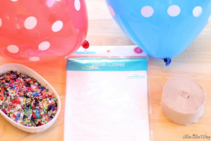 DIY Dollar Store Balloon Drop by Miss Mae Days