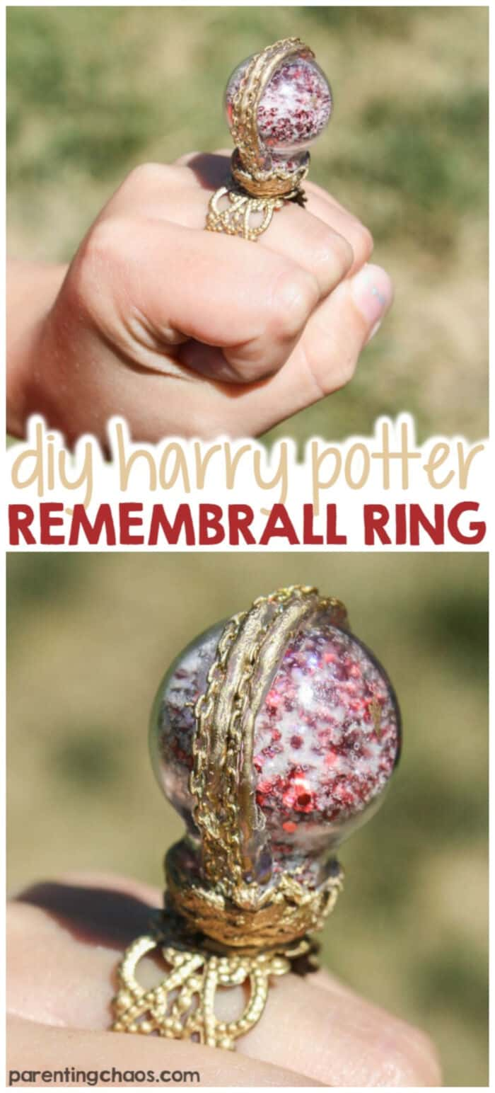 DIY Harry Potter Remembrall Ring by Parenting Chaos