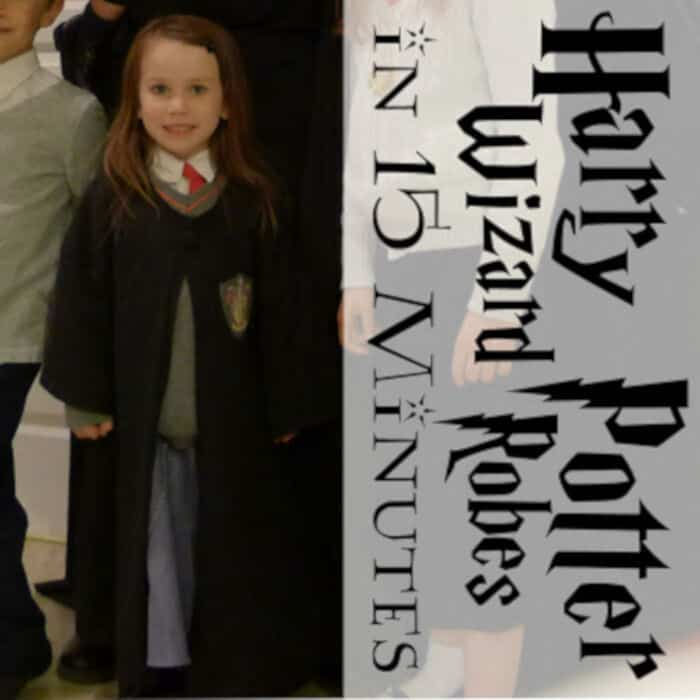 DIY Harry Potter Robe by Pieces by Polly