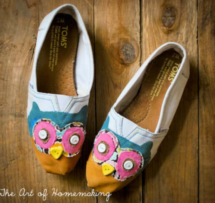 DIY Hoot Owl Toms by The Art of Homemaking