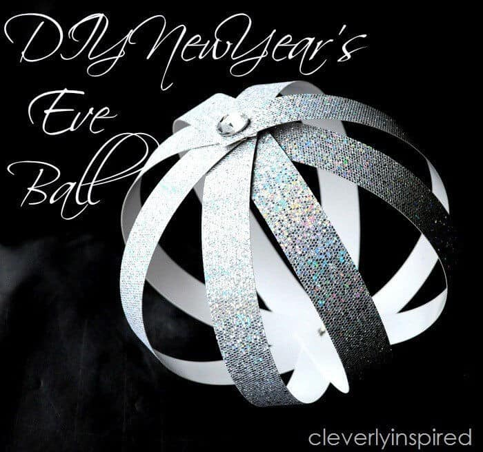 DIY New Years Eve Ball by Tatertots and Jello