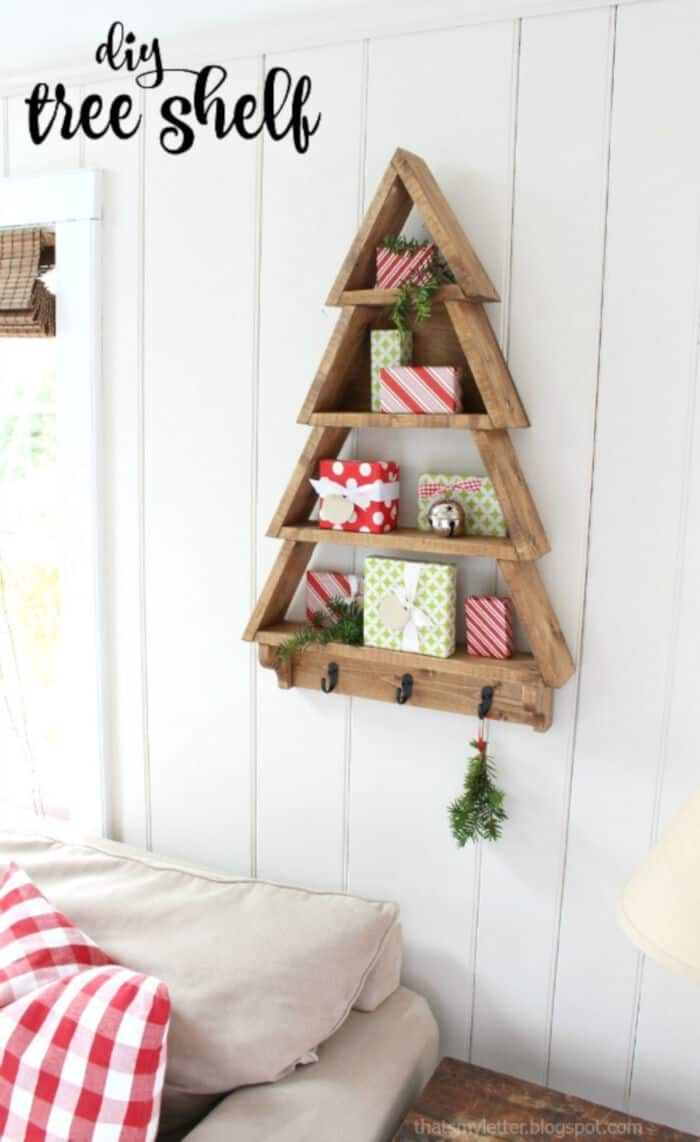 DIY Tree Shelf by Jaime Costiglio