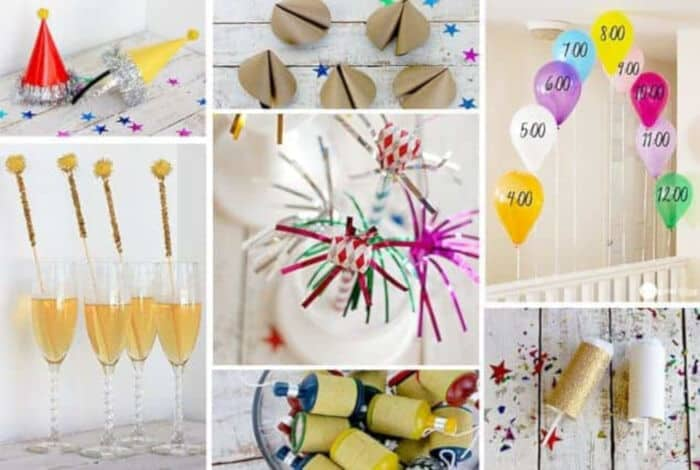 DIY New Years Eve Party Ideas by One Good Thing