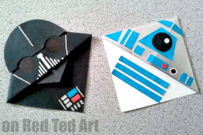 Darth Vader Bookmark by Red Ted Art