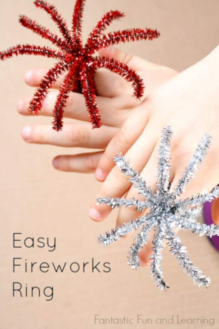 Fireworks Ring Craft by Fantastic Fun and Learning