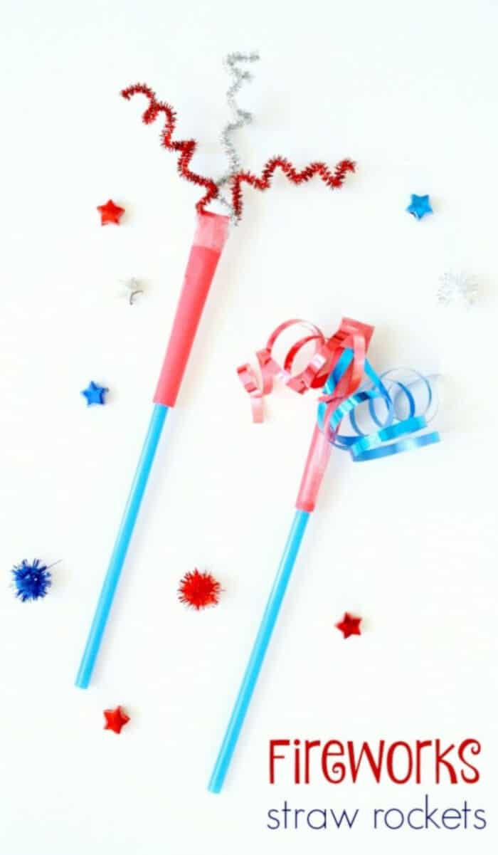 Fireworks Straw Rocket by Fantastic Fun and Learning