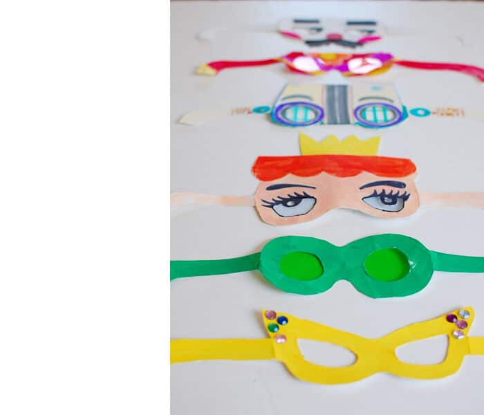 Fun Paper Glasses by Bloesem Kids