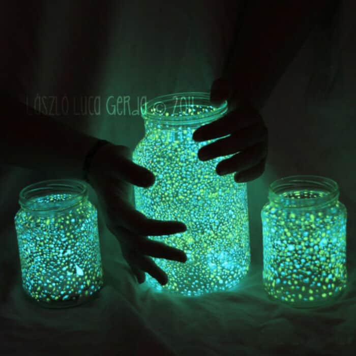 Glowing Jar Project by From Panka With Love