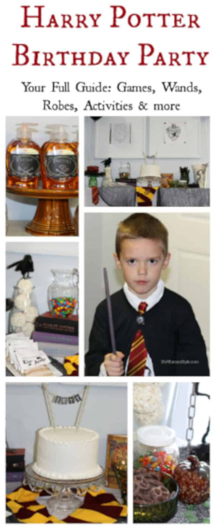 Harry Potter Birthday Party by My Mommy Style