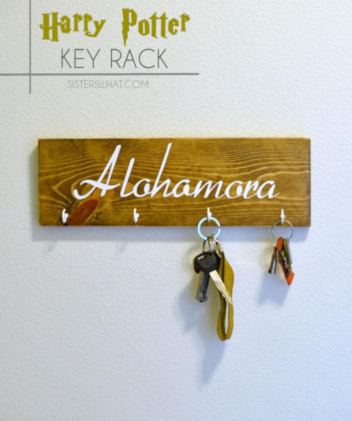 Harry Potter Key Rack by Sisters, What!