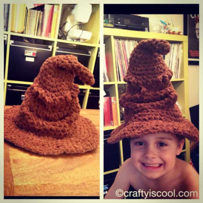 Harry Potter Sorting Hat! by CRAFTY is COOL