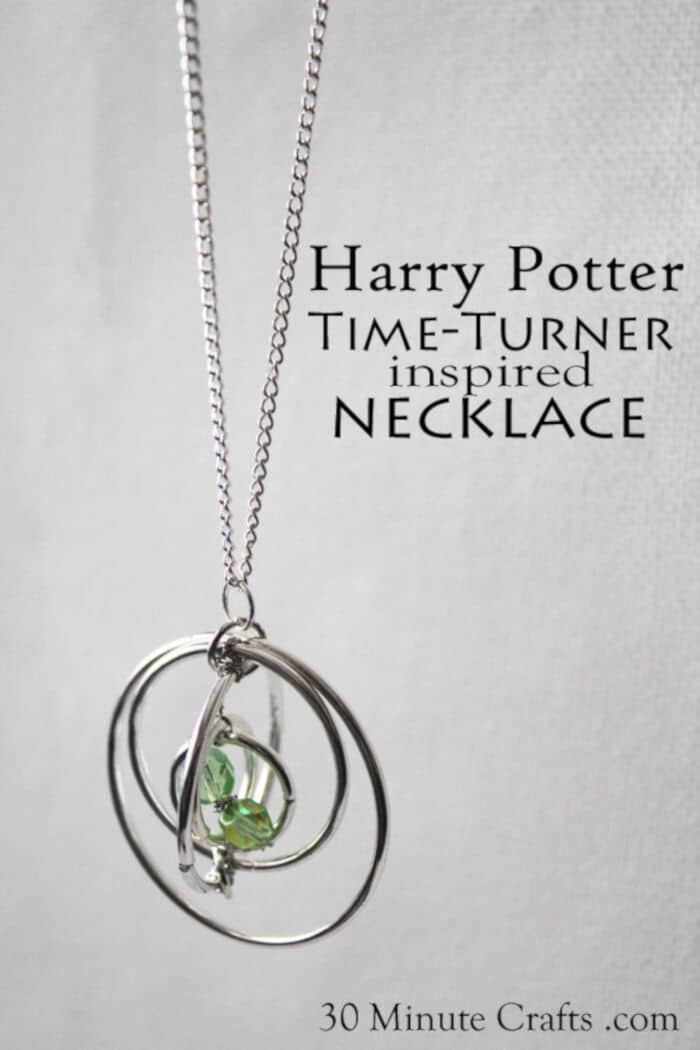 Harry Potter Time Turner Necklace by 30 Minutes Crafts