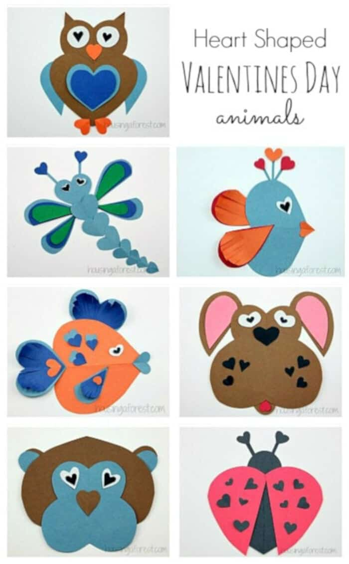 Heart Animals by Housing a Forest