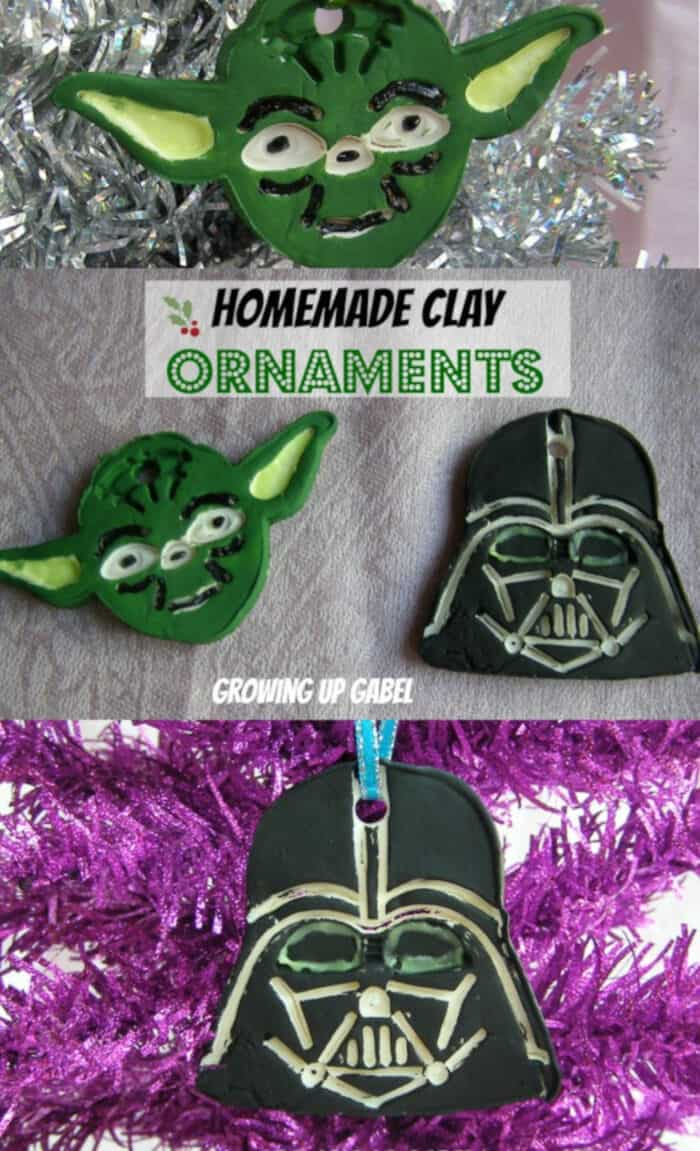 Homemade Clay Ornaments by Growing Up Gabel