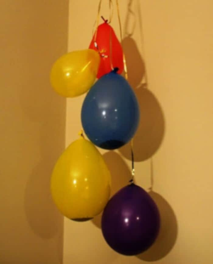 Homemade Confetti Balloons by Sun Hats and Wellie Boots