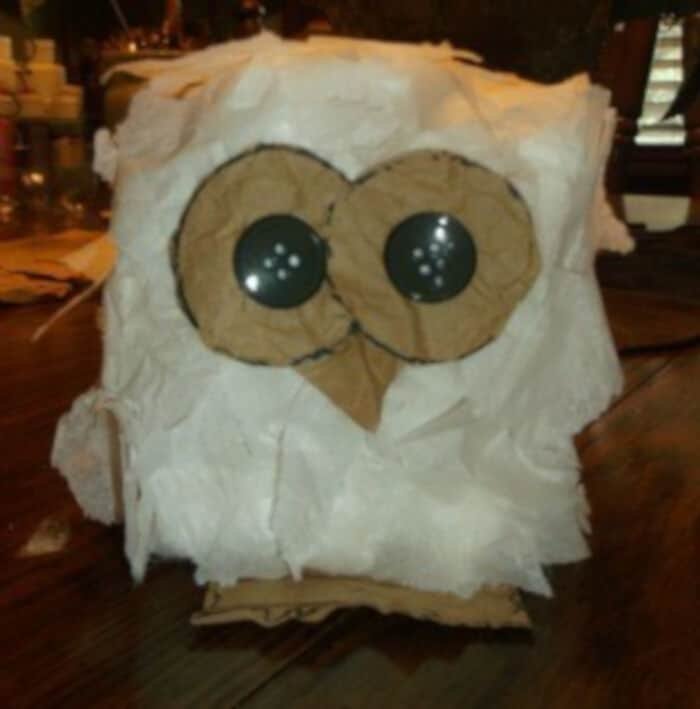 Hootie Owl by Kids and Glitter