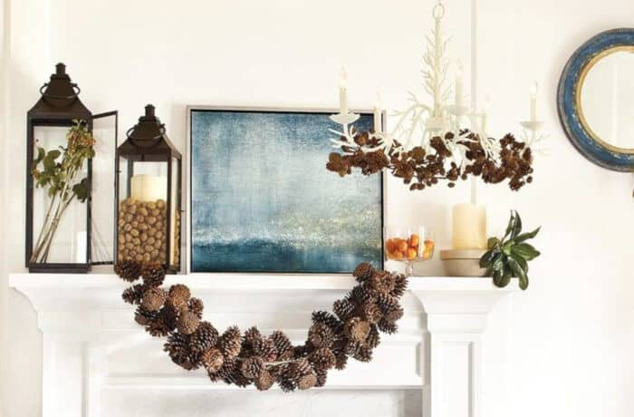 How to Make a Pinecone Garland by How To Decorate