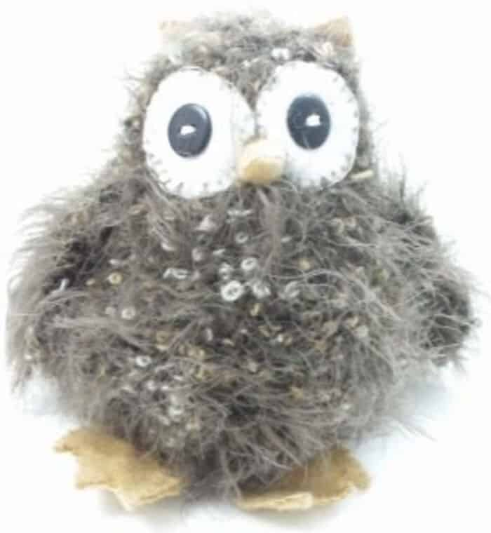 Knitted Fluffy Owl by Craft Bits