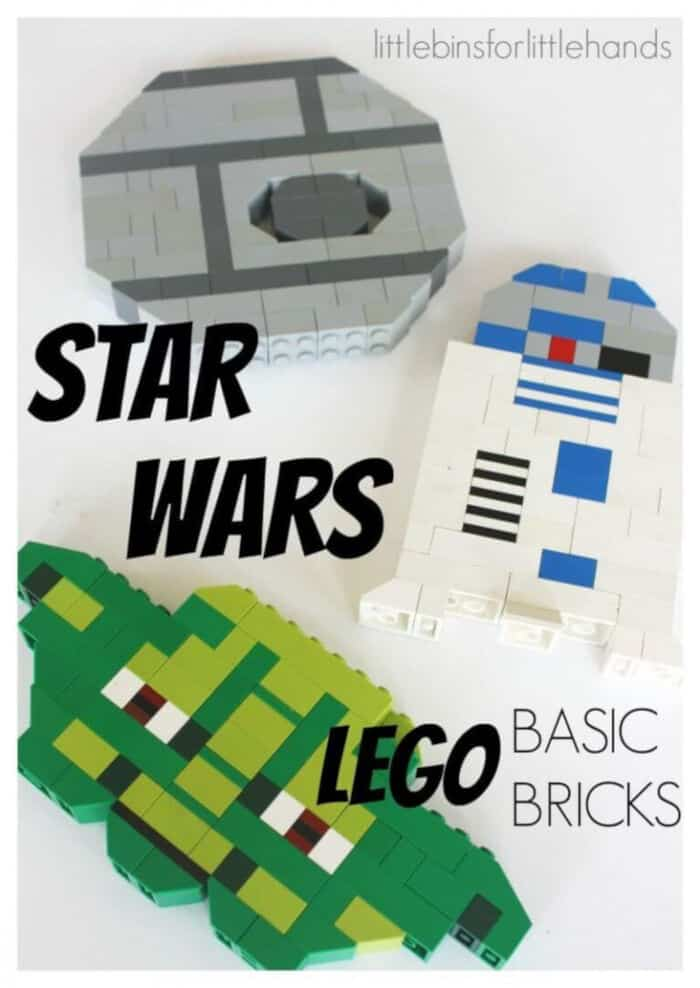 LEGO Star Wars Building Ideas by Little Bins For Little Hands